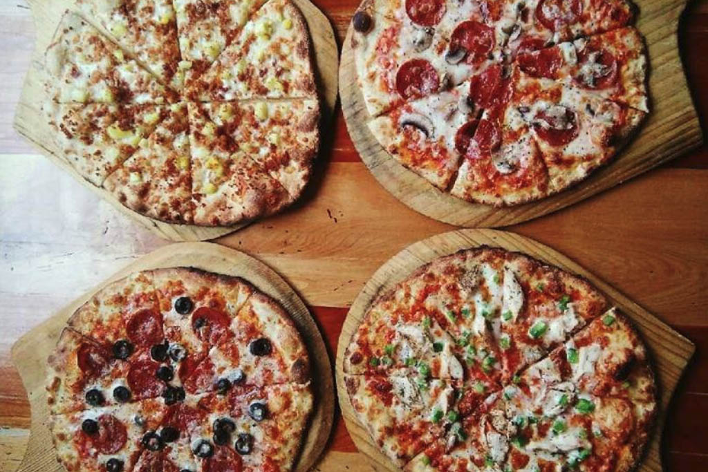 Farm To Flame pizza