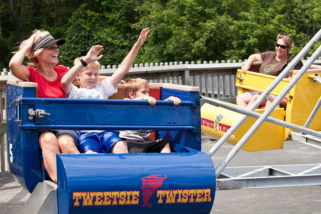 Rides at Tweetsie Railroad