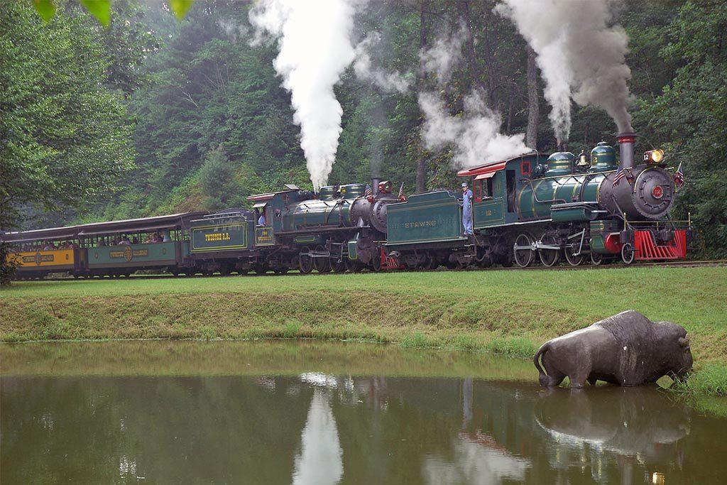 Tweetsie Railroad train