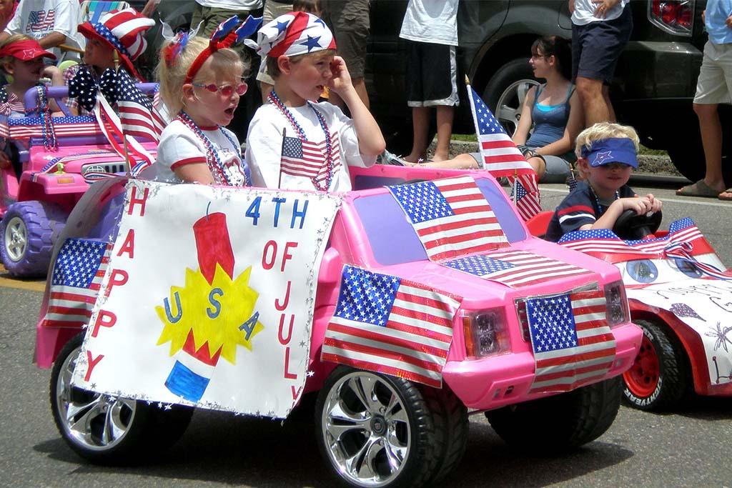 Blowing Rock July 4 parade