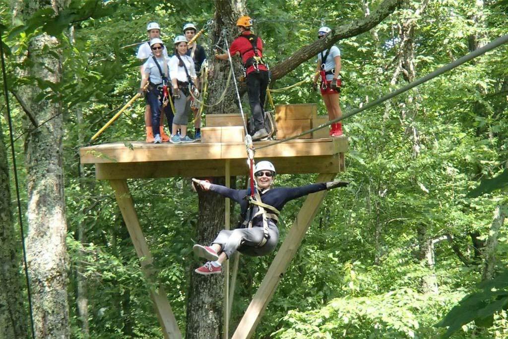 Ziplining near Boone, Ziplining near Blowing Rock, Ziplining near Banner Elk