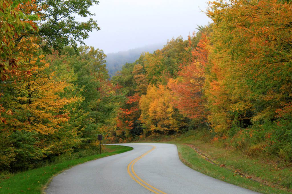 Blowing Rock fall colors