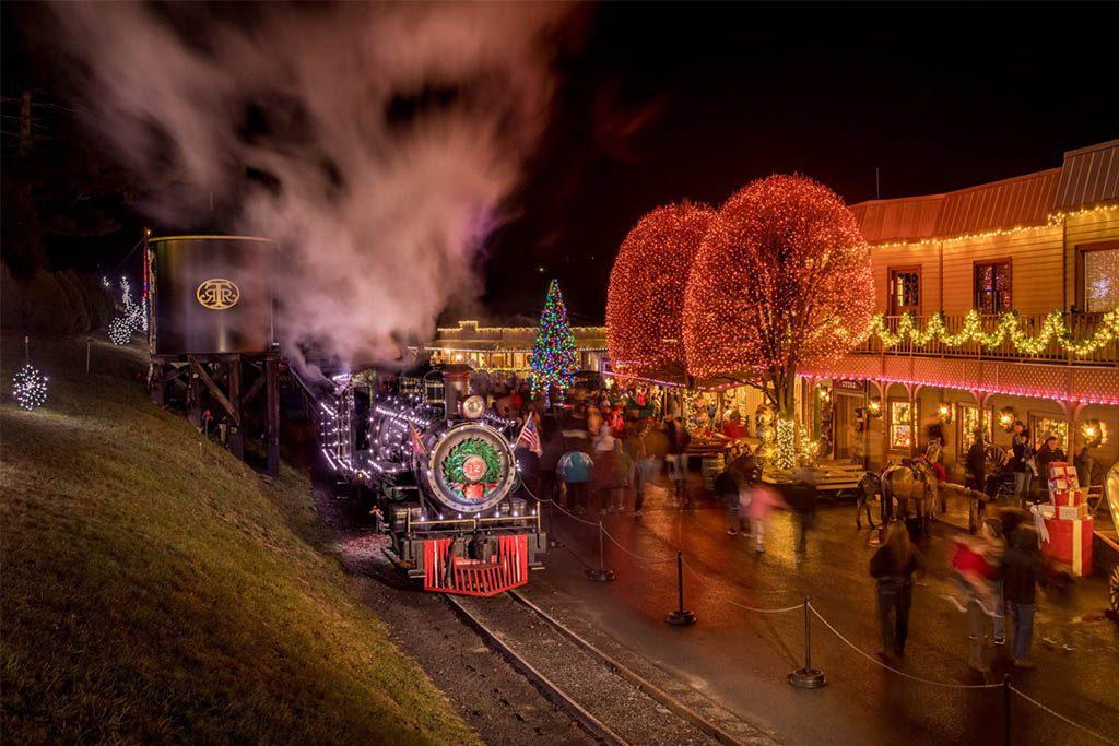 Tweetsie Christmas 2019 at Tweetsie Railroad