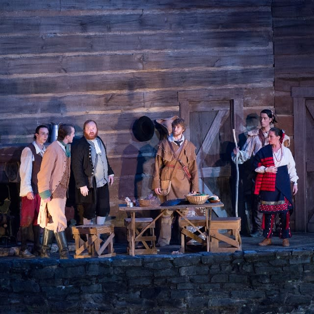 horn in the west outdoor drama