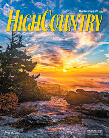 High Country Visitors Guide cover 2021