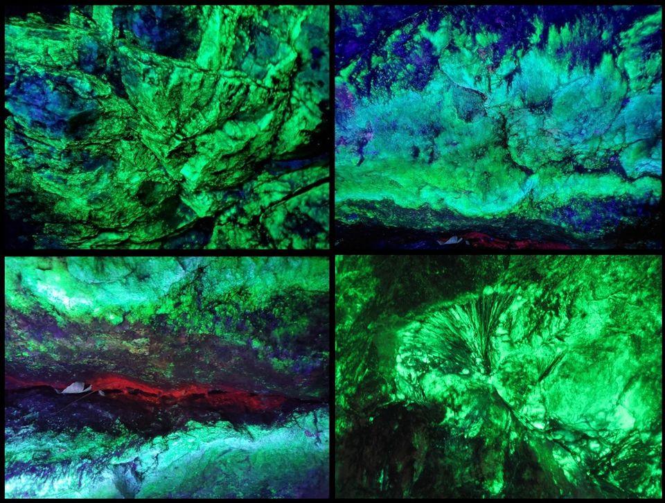 Underground Blacklight Mine Tours